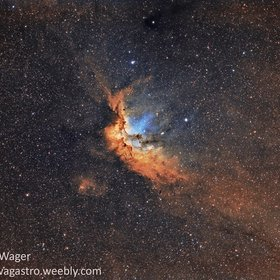 NGC7380 - The Wizard Nebula