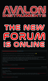 avalon instreuments forum available
