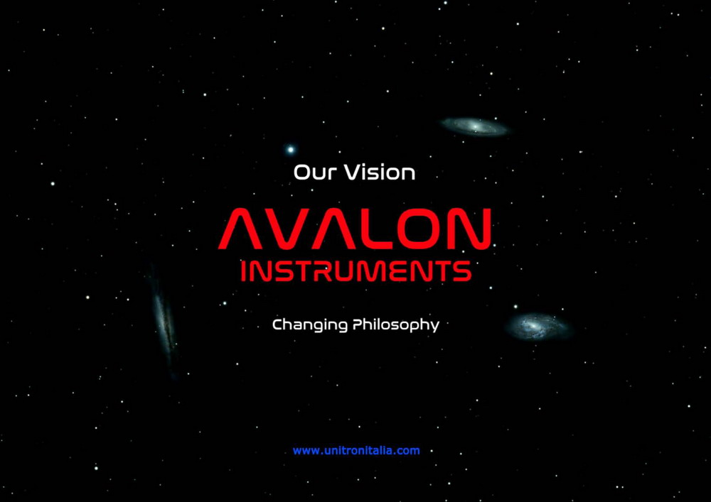 avalon instruments catalogue cover 1000