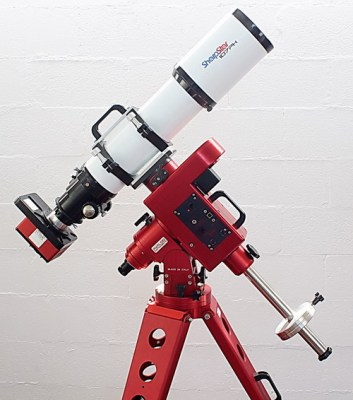 Linear German Equatorial Mount. Optic not included.