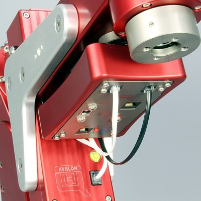 StarGo assembled the bottom side of the DEC arm, for one telescope setup configuration